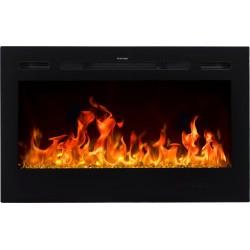 "MAJESTIC 45 ""Wall mounted electric fireplace AFLAMO"