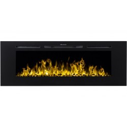 "MAJESTIC 60 ""Aflamo wall mounted electric fireplace"