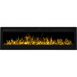 "MAJESTIC 65 ""Aflamo wall mounted electric fireplace"