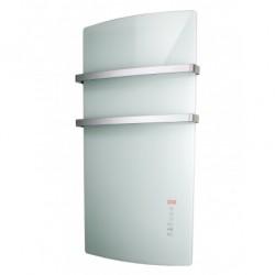 Grzejnik łazienkowy elektryczny białe szkło WH 1500W