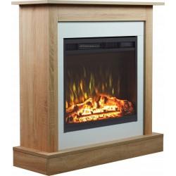 Electric fireplace VIGO 2in1 - Aflamo