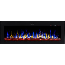 "MAJESTIC 50 ""Wall mounted electric fireplace AFLAMO"