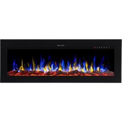 Electric fireplace LED DIAMOND 128 cm AFLAMO