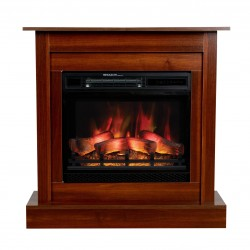 Electric fireplace 3D MILO 2in1 classic - 3D MODEL